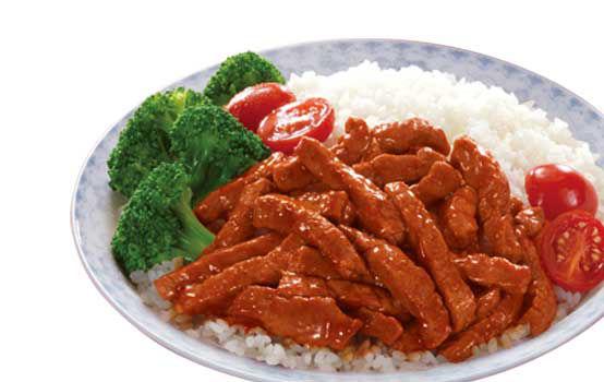 川香牛肉饭