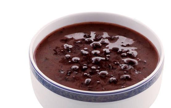 椰香黑米露(热)