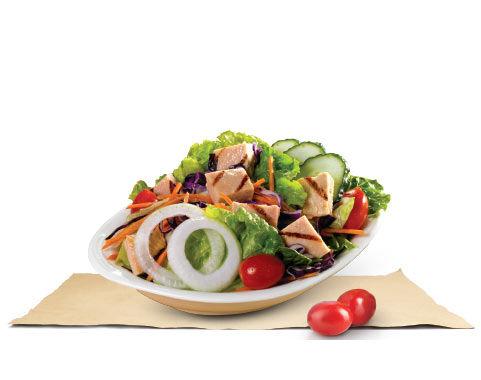 蔬菜色拉/火烤鸡腿色拉