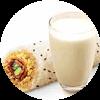 E3 早餐 培根蛋肉酥饭团+醇豆浆(热) 2018年2月凭肯德基优惠券13元