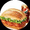 C12 新奧爾良烤雞腿堡+百事可樂(中) 2020年2月憑肯德基優惠券24元