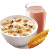 E2 早餐 冬菇滑鸡粥+红Pro豆浆+安心油条 2018年2月凭肯德基优惠券13元