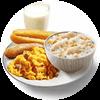 E1 早餐 年年有鱼全餐+醇豆浆(热) 2019年1月2月凭肯德基早餐优惠券26元