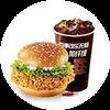 C8 香辣雞腿堡+百事可樂無糖加纖維(中) 2020年2月憑肯德基優惠券24.5元