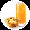 C36 下午茶 葡式蛋撻+九珍 2020年2月憑肯德基優惠券17元