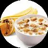 E2 早餐 冬菇滑鸡粥+油条麦饼被蛋卷 2017年3月4月凭肯德基优惠券12元