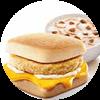 E9 早餐 芝士鸡肉帕尼尼+皮蛋瘦肉粥 2017年3月4月凭肯德基优惠券12元