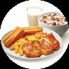 E4 早餐 有雞腿中式全餐 2020年3月4月憑肯德基早餐優惠券23元