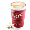 K1 现磨咖啡 拿铁(大杯)/香草风味拿铁(大杯)/榛果风味拿铁(大杯) 2017年4月5月6月凭肯德基优惠券15元