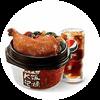 C15 港式燒味脆皮大雞腿飯+葡式蛋撻 2020年2月憑肯德基優惠券29元