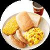 E15 北京杭州早餐 新升级西式全餐+美式咖啡(中) 2017年10月凭肯德基优惠券25.5元