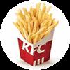 薯条(中)1份 2020年9月凭肯德基优惠券9.5元