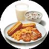 早餐 有鸡腿全餐 2020年7月凭肯德基优惠券85折